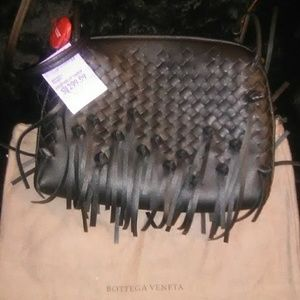 Black Bottega hand bag